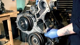 Replacing the P gasket PET 100790 - 300tdi engine Land Rover