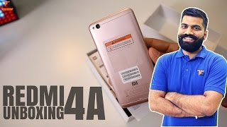 Xiaomi Redmi 4A Unboxing - Best in Budget?
