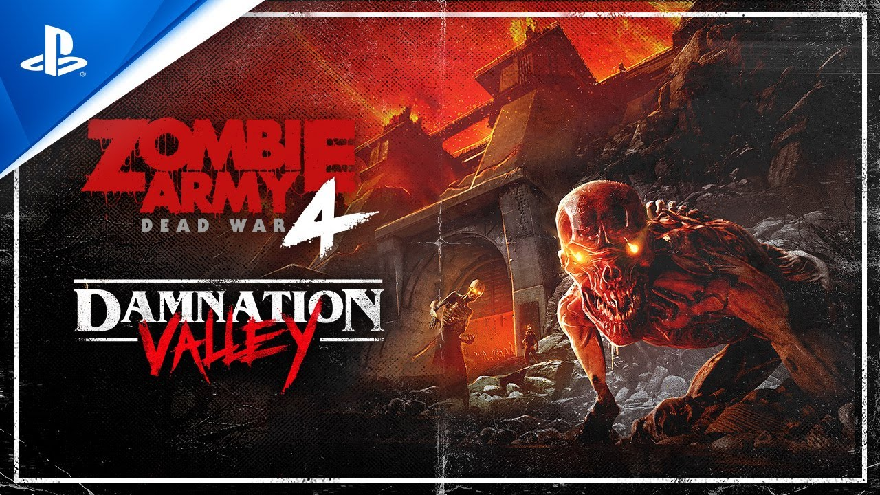 Zombie Army 4: Dead War – Damnation Valley   PS4