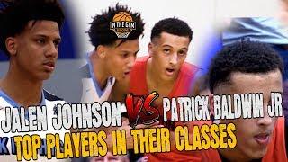 ESPN #4 CLASS OF 2020 JALEN JOHNSON VS ESPN #1 2021 PATRICK BALDWIN JR.
