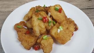 Salt & Pepper Fish Fillet (椒盐鱼片)