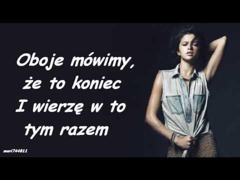Selena Gomez - Sad Serenade (tłumaczenie pl)