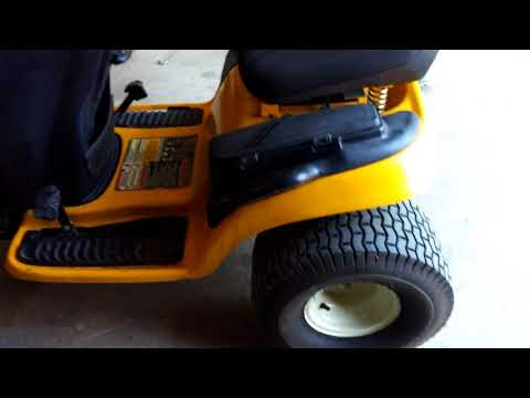 Repeat Unboxing and testing Cub Cadet 30 / 30H Lawn Tractor