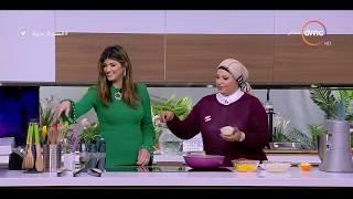 السفيرة عزيزة - مع خبيرة التغذية غادة إبراهيم - طريقة عمل ( فراخ محشية - كيكة البلح بالآيس كريم )