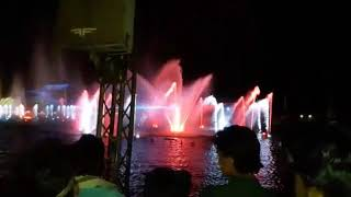 14 August special Water fountain view of behriya town || behria town water fountain amazing scene