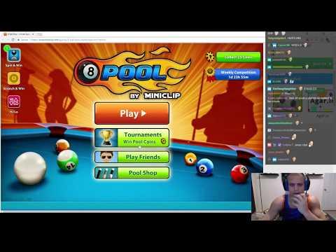 Tyler1 Plays 8 Ball Pool Multiplayer Vs Greekgodx