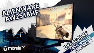 Alienware AW2518Hf - opłacalny 240Hz monitor dla graczy