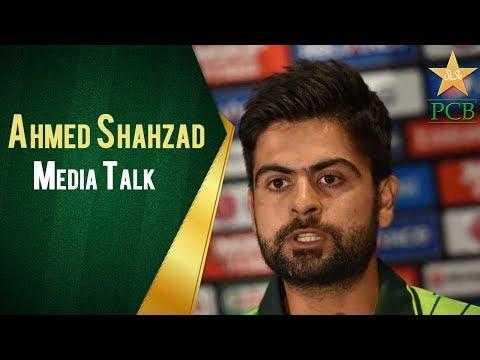 Ahmed Shahzad Media Talk in Eden Park, Auckland | PCB