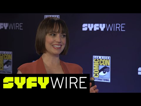 Preacher Julie Ann Emery: Best Grail and Featherstone Moments  San Diego ComicCon 2017  SYFY WIRE