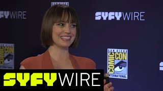 Preacher Julie Ann Emery: Best Grail and Featherstone Moments | San Diego Comic-Con 2017 | SYFY WIRE