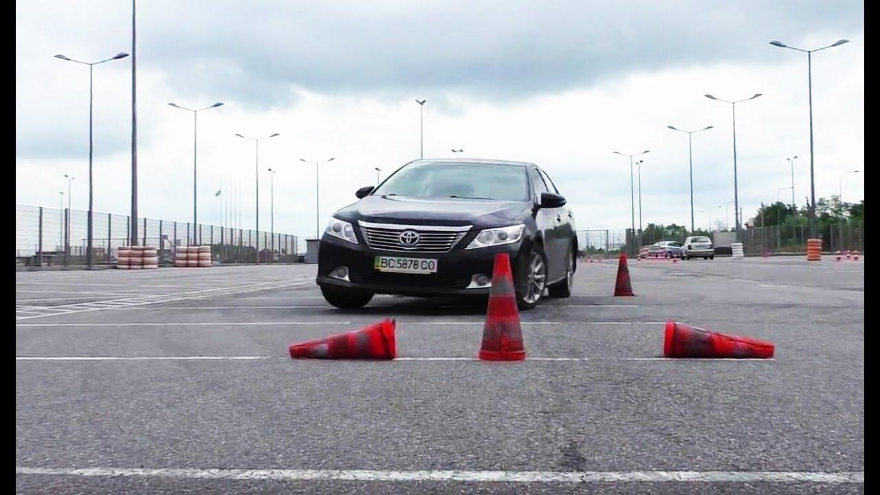 Курс Экстремального Вождения на Toyota Camry V50