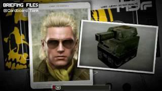 Metal Gear Solid Peace Walker - Cardboard Tank