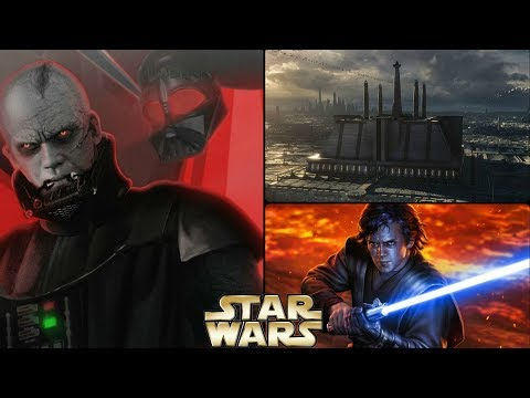 Anakin S Father Revealed In Original Script Of Revenge Of The Sith Star Wars Explained Youtube