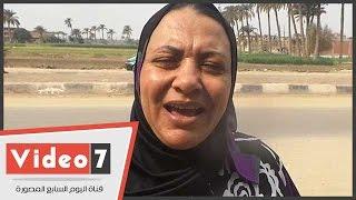 بالفيديو .. ناخبة بالعياط تهدى الجيش قصيدة بعنوان