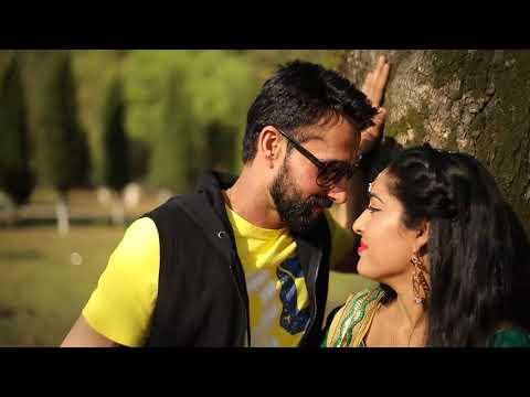 Ramandeep with Harjinder pre wedding Bombay studio mahilpur