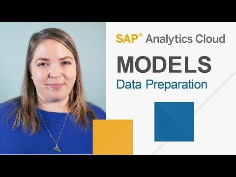 Data Preparation in SAP Analytics Cloud