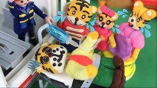 しまじろうアニメおもちゃ「お父さんが病院で緊急手術!事故で救急車に運ばれる!」 thumbnail