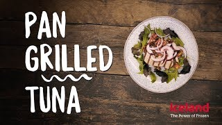 How to Make Pan Griddled Tuna