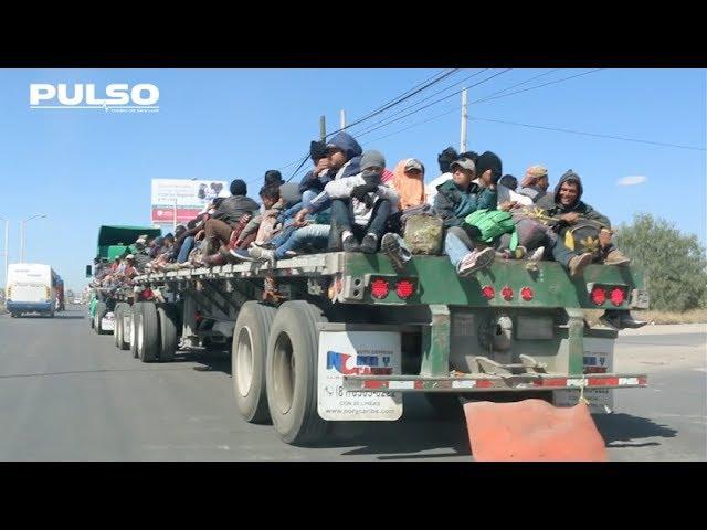 Llega a SLP la Caravana Migrante