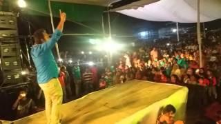 Kangalinir bondhu tumi by fa sumon live stage performance at Bondor kella Narayongonj
