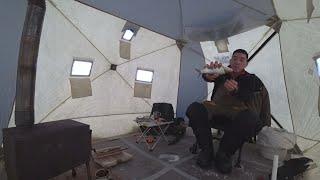 Зимняя рыбалка в тундре Куда мне столько рыбы Отвечаю на ваш вопрос