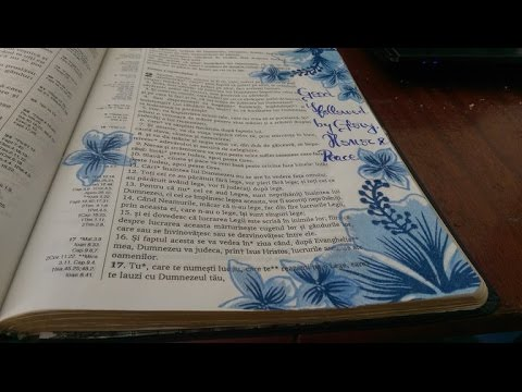 Easy Bible Art Journaling Romans 2:10 - Paper Napkin Collage