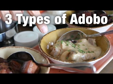 3 Types of Pork Adobo (Manila Day 2)