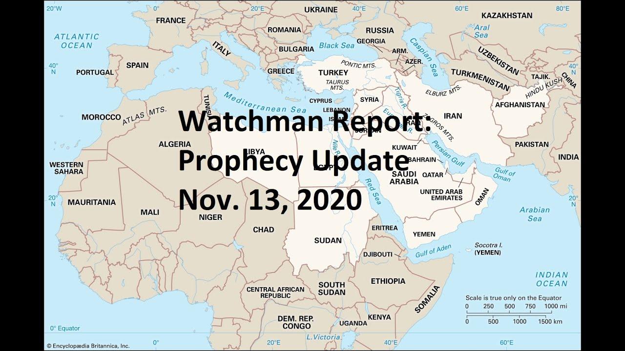 Prophecy Update - Nov. 13, 2020 - Turkey, Coronavirus, Lockdowns, 2020 Election, Earthquakes!