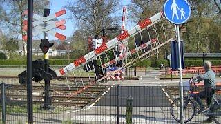 Spoorwegovergang Oudenbosch // Dutch railroad crossing