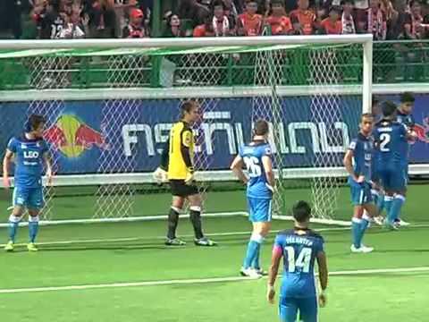 ดูบอลสด ไฮไลท์ไทยพรีเมียร์ลีก 2013 บางกอกกล๊าส 0- 0 สุพรรณบุรี