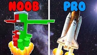 SPACE NAVE in ROBLOX NOOB vs PRO with Rovi Roblox Cerso