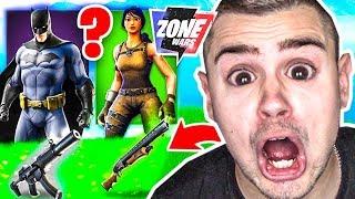 *ZUFALL* SKIN CHALLENGE in Fortnite ZONE WARS!