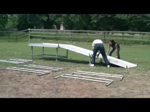 Portable Mounting Ramp for Horses
