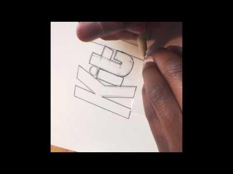 Kit Kat Logo Drawing