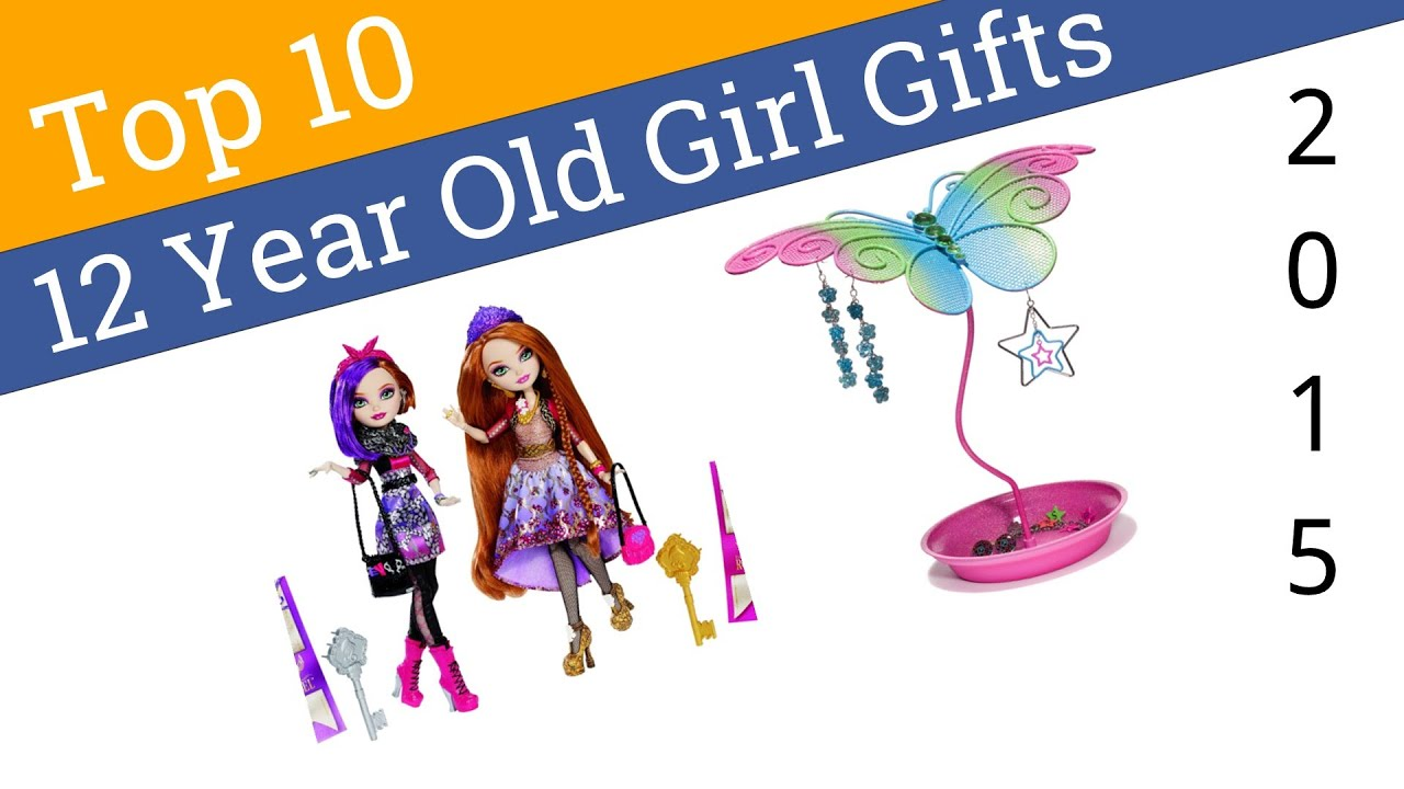 10 Best 12 Year Old Girl Gifts 2015 - YouTube