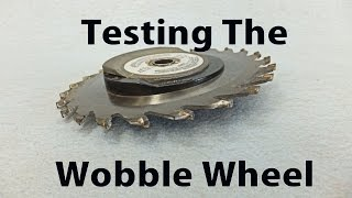 Testing The Wobble Dado Blade - A Woodworkweb Woodworking Video