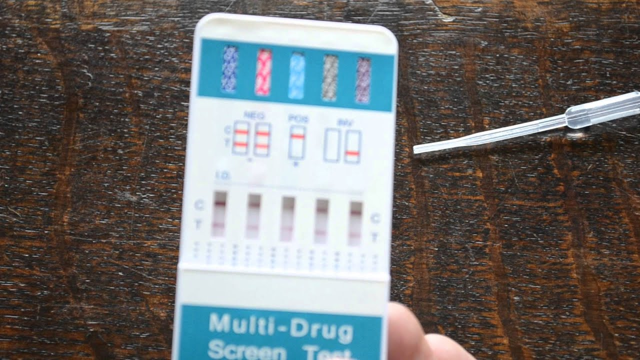 how do you read faint lines on a drug test, what should the result be