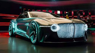 Bentley EXP 100 GT: Electric, Ultra High-Tech Luxury Of The Future | Carfection 4K