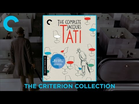 The Compete Jacques Tati | The Criterion Collection Blu-ray Digipack Boxset | Playtime | Unboxing