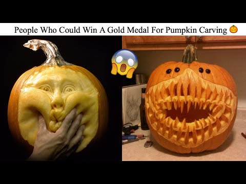 People Who Could Win A Gold Medal For Pumpkin Carving