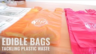 Edible 'Plastic' Bags That Vanish Within 180 Days