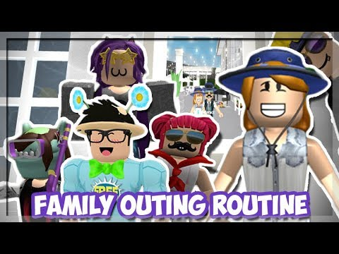 Bloxburg Mother Of 4 Kids We Went On A Family Outing Roblox