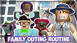 Bloxburg Mother of 4 Kids! WE WENT ON A FAMILY OUTING! (Roblox Roleplay)