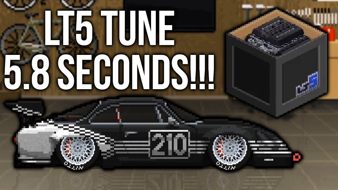 Pixel Car Racer 58 Tune Lt5 Engine Youtube
