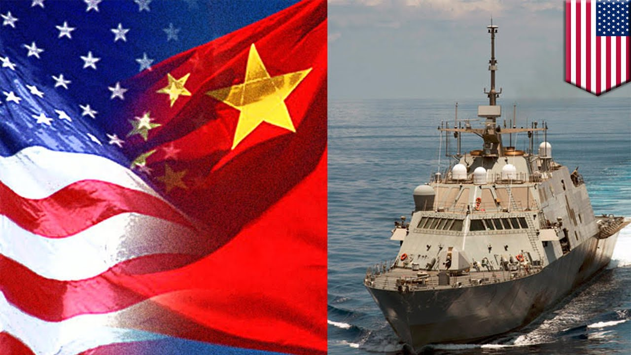 Image result for China and US in South China Sea