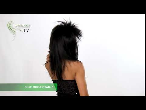 ROCK STAR MEDIUM | Synthetic Hair Wig By Ilona Hair