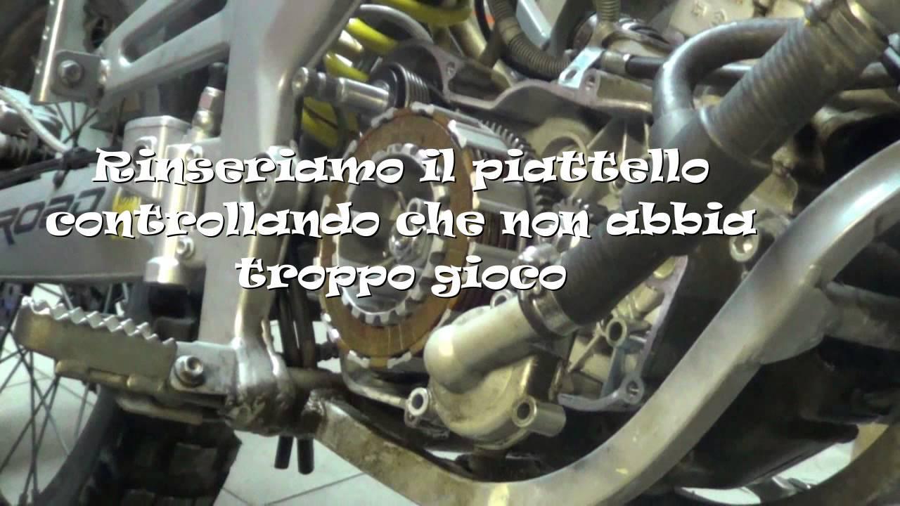 Smontaggio E Montaggio Frizione Blocco Derbi D50b