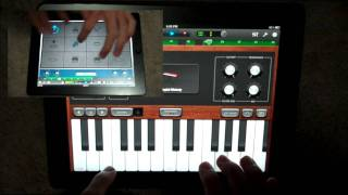 """Little Bad Girl"" - David Guetta (iPad Cover)  (""Nothing but the Beat"" Album) Piano/synth and drums"