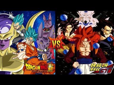 Dragon Ball Super vs. Dragon Ball GT - 64 Episodes