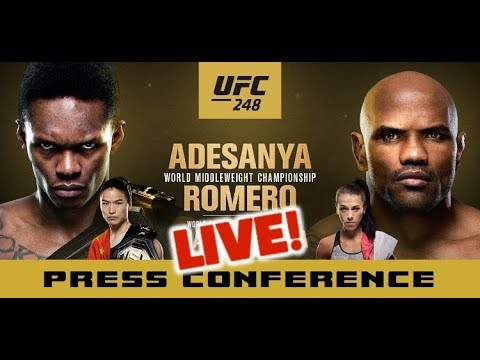 UFC 248 Post-Fight Press Conference: Israel Adesanya vs Yoel